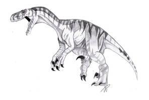 Utahraptor by SpiritWolf517