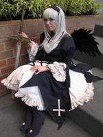 Rozen Maiden - Suigintou by Rose-Pastel
