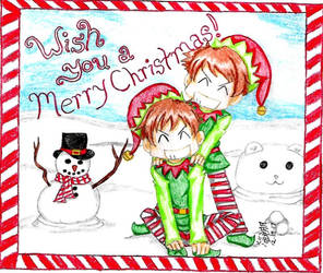 Wish You a Merry Christmas by IsisConstantine
