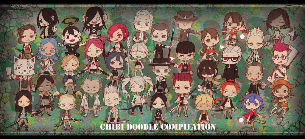 Chibi Doodle Compilation by Mo-des