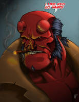 HELL YEAHH RED... by biroons