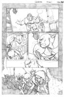 Skullkikers Contest page 1 by biroons