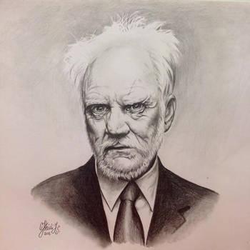 Malcolm McDowell by HeidiJS