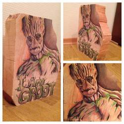 I am Groot part 2 by HeidiJS