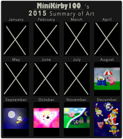 2015 Summary of Art (Meme) by MiniKirby100
