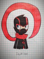 Day 14: Scarf - The Ninja by MiniKirby100