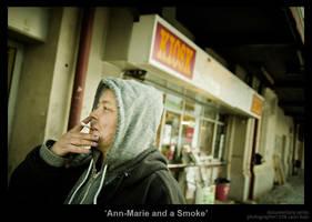 Ann-Marie and a Smoke by MrColon