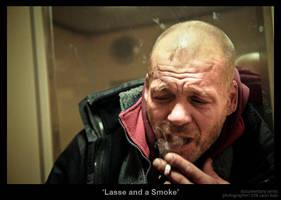 Lasse and a Smoke by MrColon