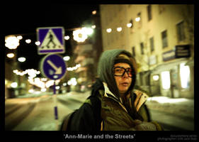 Ann-Marie and the Streets by MrColon
