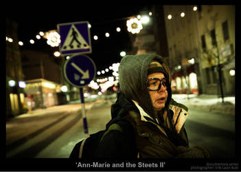 Ann-Marie and the Streets II by MrColon