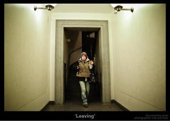Leaving by MrColon