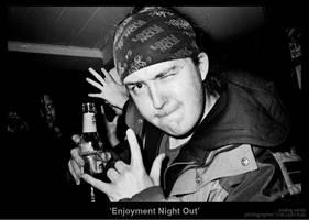 Enjoyment Night Out by MrColon