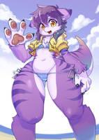 Tsuki in bikini by shepherd0821