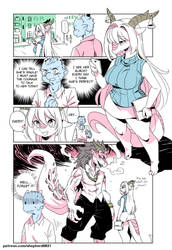 Modern MoGal # 046 - You shall not touch! by shepherd0821