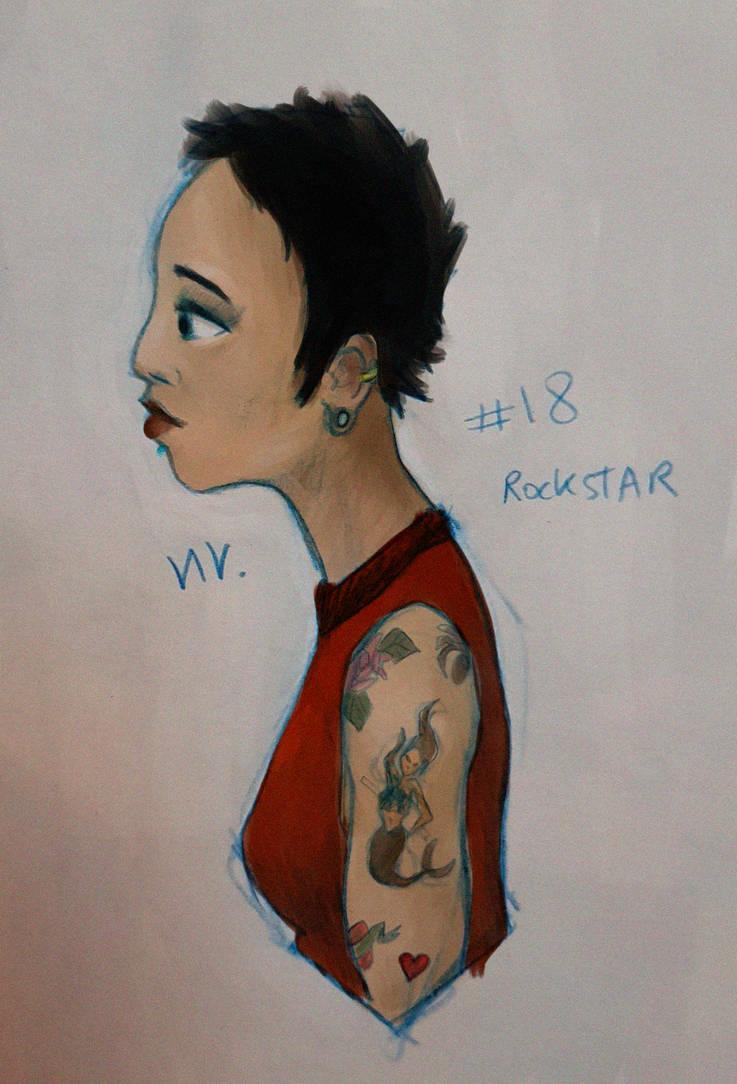 rockstar by Yetska