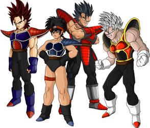 saiyan team by ShinTheDragonFighter