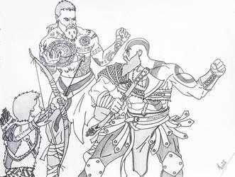 God of War..... by i-am-rik