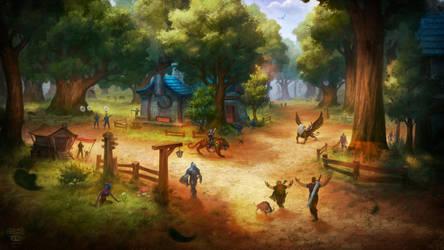 Elwynn forest by KAaSTuroveC