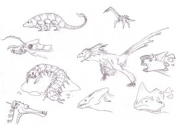 Saturday Sketches 01 by tonystardreamer