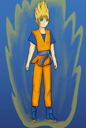 SSJ Son Goku by PsychicDuelistRBD