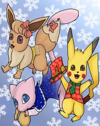 Holiday Pokemon by PsychicDuelistRBD
