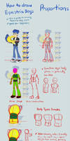 Equestria Boys Tutorial: Proportions by Khuzang