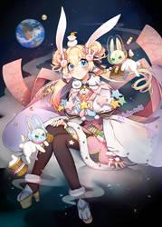 Space Dango-chan by Rplmko