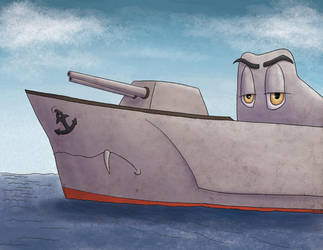 HMS Tempestuos +request+ by Rad-Puppeteer