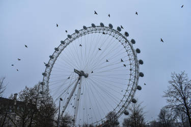 The London Eye by Rad-Puppeteer