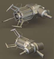 HL2 Gravity gun WIP by Linolafett