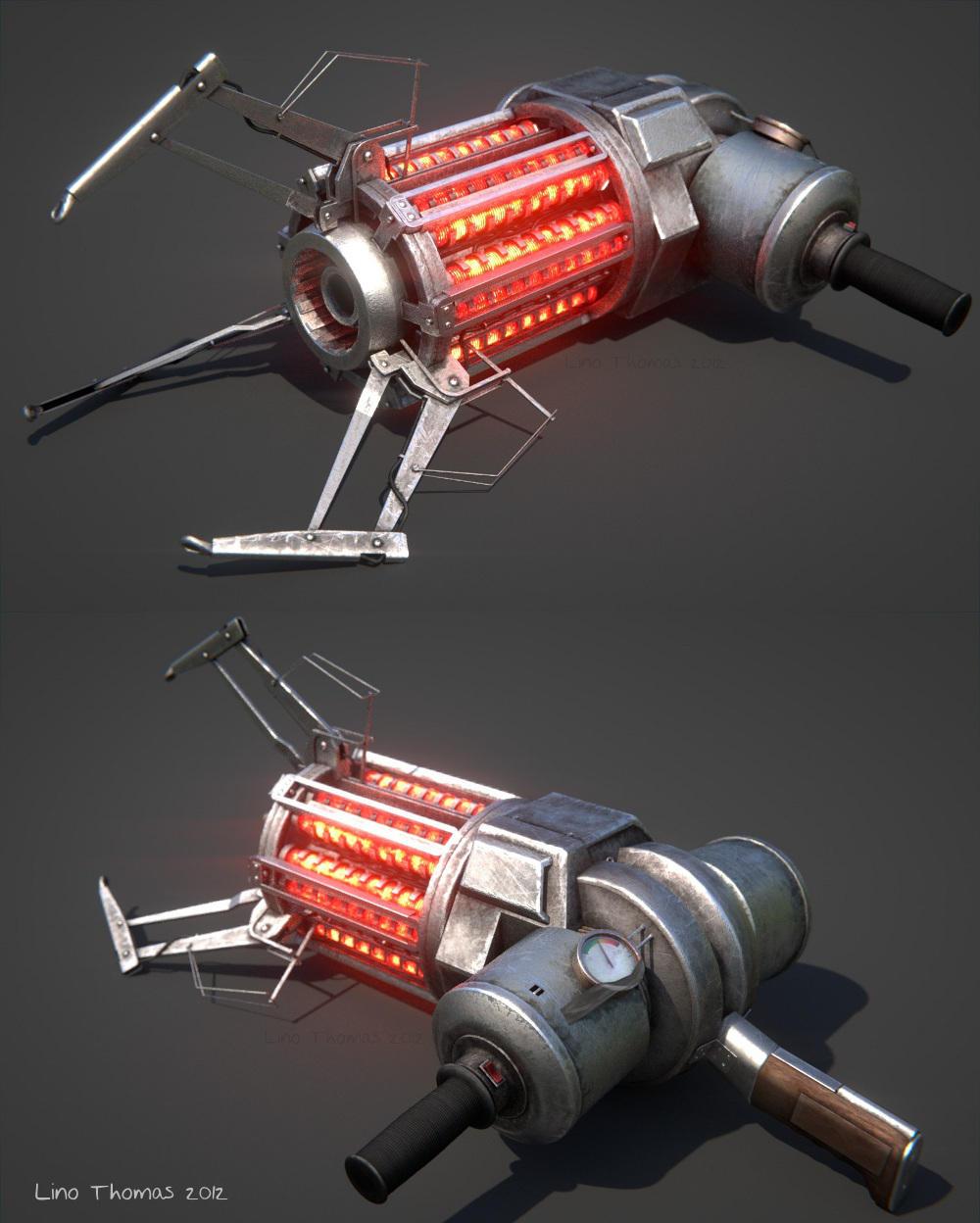 HL2 Gravity gun by Linolafett