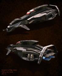 Lowpoly Spacecraft by Linolafett