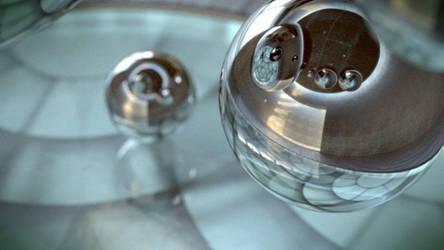 Reflecting spheres by Linolafett