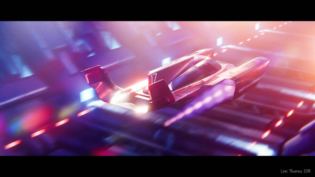 Space racer? by Linolafett