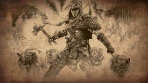 Assassin's Creed III Connor Kenway Wallpaper by Bajan-Art