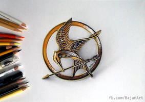 The Mockingjay by Bajan-Art