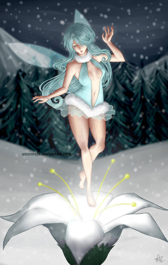 A fairy's birth by amumaju