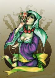 Priestess Rao by amumaju