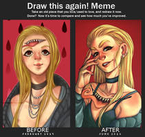 Draw this again Meme 3 by amumaju