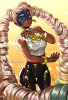 Twintelle - ARMS by amumaju