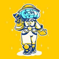 Beekeeper by MewNguArt
