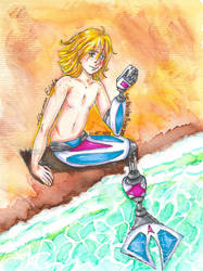 COMM: Merman Elisha by Juricha