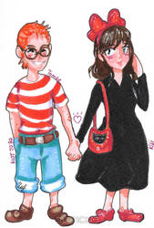 VALENTINE'S SPECIAL: Kiki and Tombo by Juricha