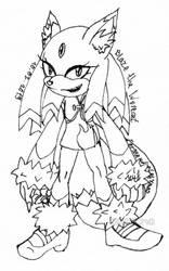 COMM: Blaze The Werecat by Juricha