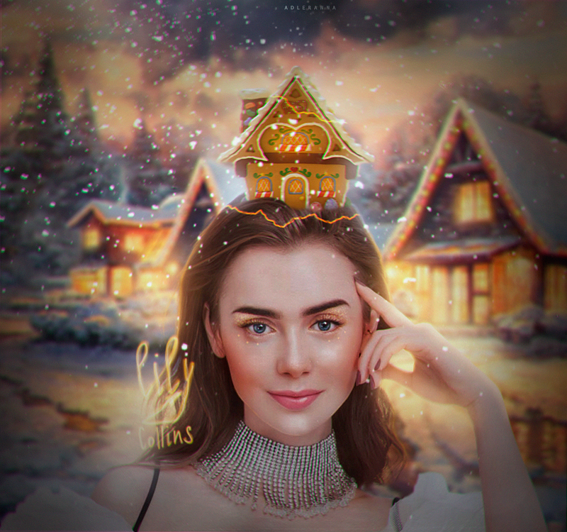 Lily-Collins by AdlerAnna