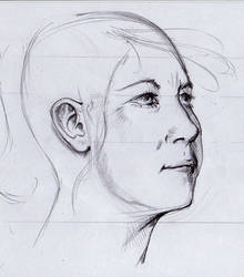 face sketch by PArk68k
