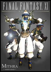 Mithra White Mage by teran80