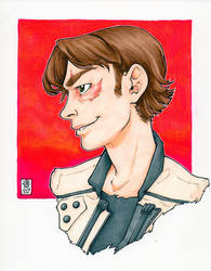 Han Solo, Corellian Style Portrait, SOLO by DandyAngelicaVannini