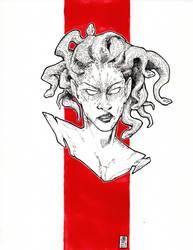 Medusa (boy) by DandyAngelicaVannini