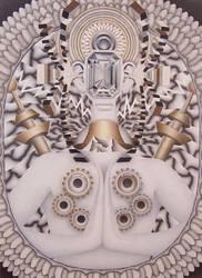 Diamond Face by redeye-art